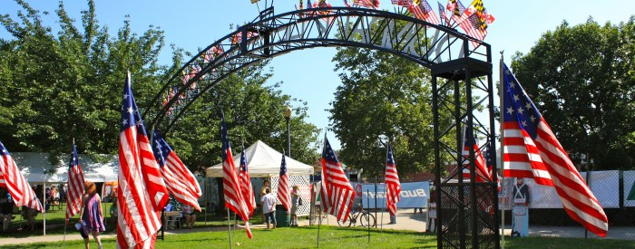 Dundalk Heritage Fair Entrance